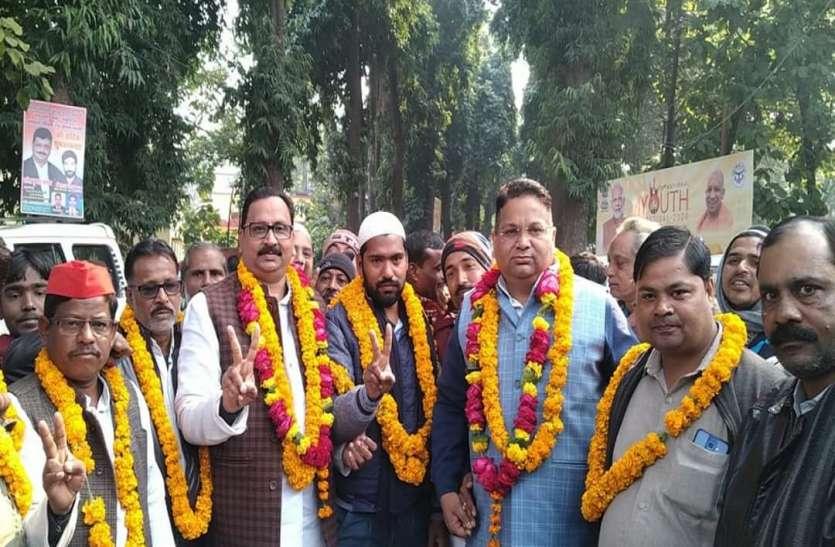 नगर निगम उपचुनाव में सपा ने जीत हासिल कर बचाई अपनी सीट, भाजपा-कांग्रेस को तगड़ा झटका