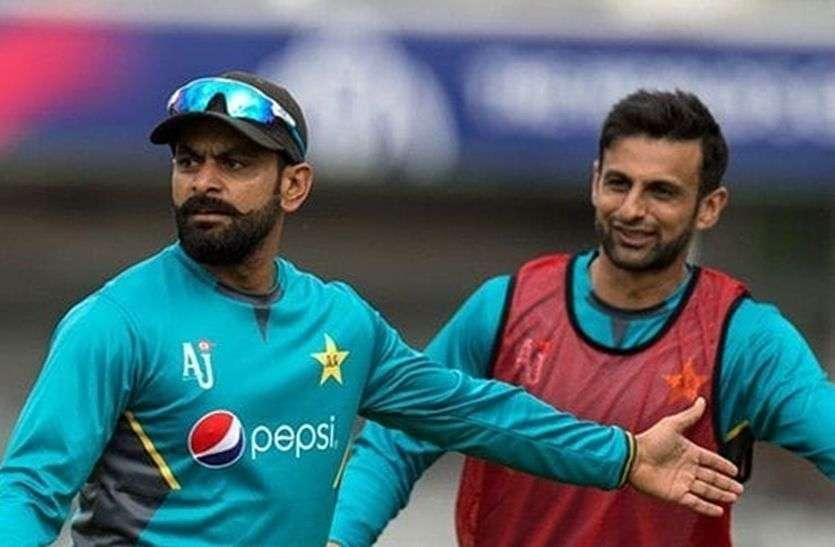 पाकिस्तान क्रिकेट टीम में मोहम्मद हफीज और शोएब मलिक की वापसी