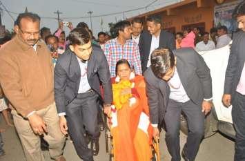 देश में सन् 47 जैसे हालात पैदा करना चाहती है कांग्रेस: उमा भारतीय