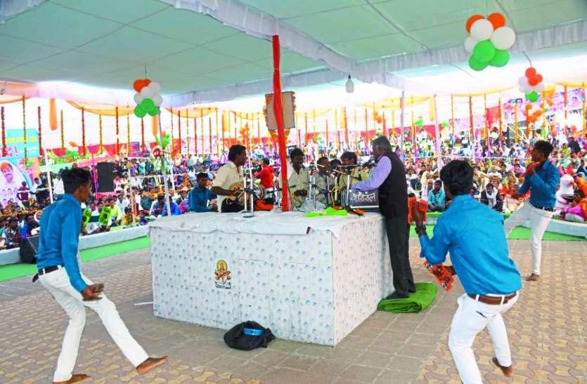 मठारदेव मेला : रामसत्ता प्रतियोगिता में श्रद्धा मंडल भोपाल ने जीती स्पर्धा