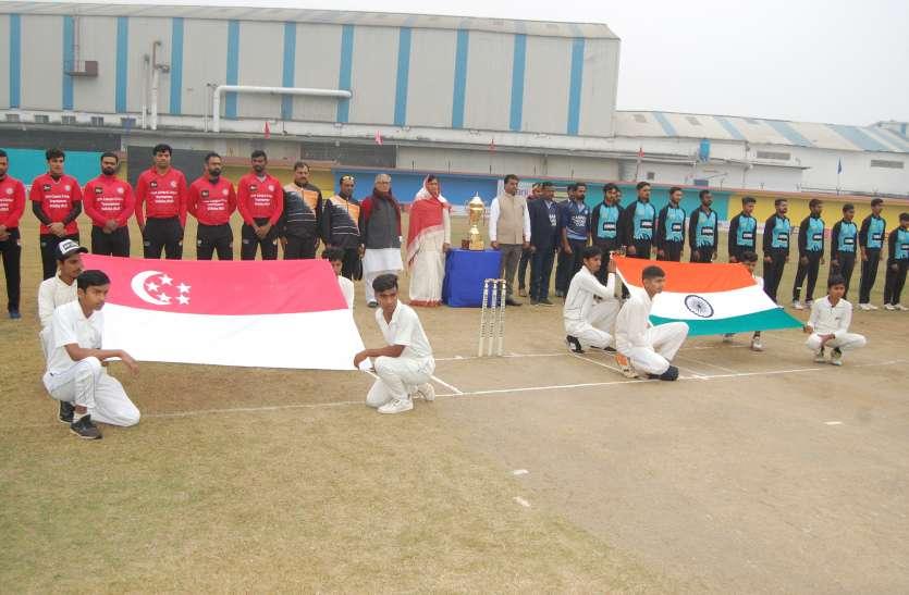 कनारा विदिशा ने सिंगापुर को ४० रन से दी करारी शिकस्त