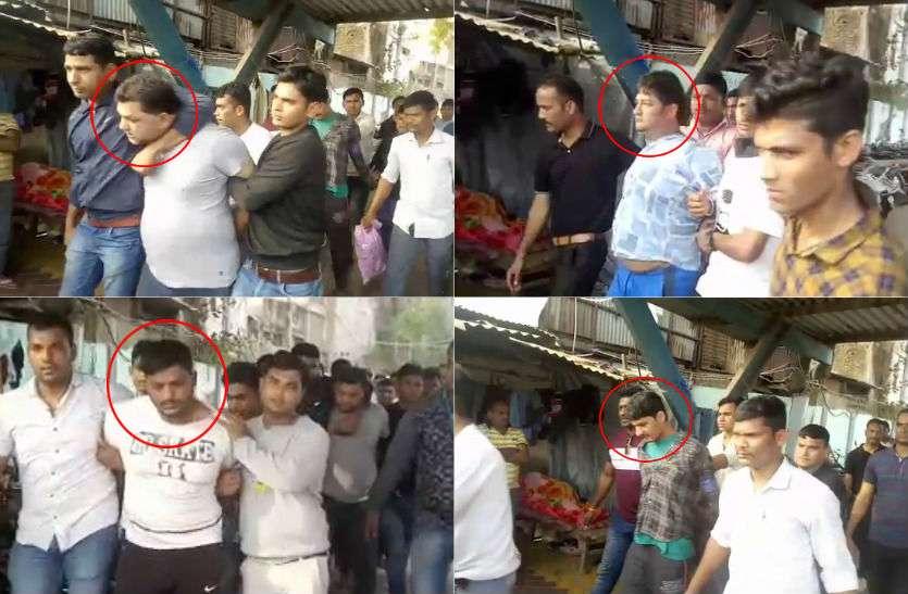 खुद को चारों ने बताया दिल्ली पुलिस का अफसर, कहा- आपके बैग में है पिस्टल, फिर मिर्ची छोंक चेन्नई से ले उड़े...