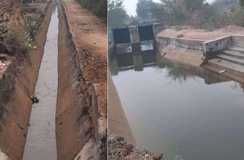 बीसलपुर बांध से नहरों में घटाया सिंचाई के लिए छोड़ा पानी ,बाई मुख्य नहर बंद होने के कगार पर