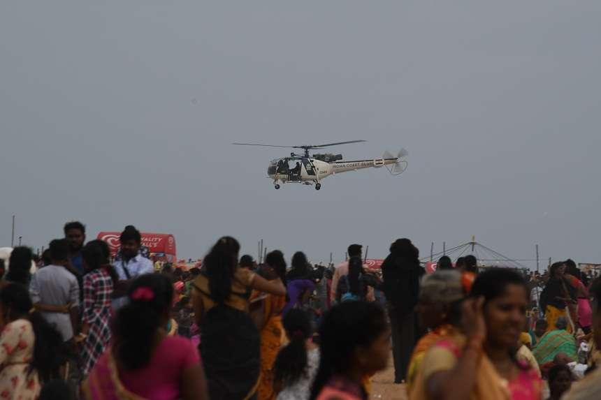 काणुम पोंगल पर पर्यटन स्थलों पर दिखी भीड़