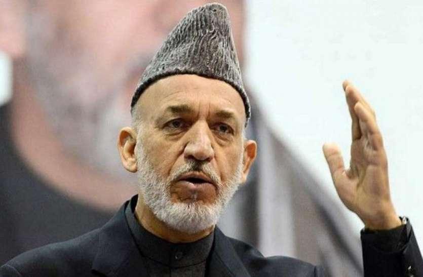 हामिद करजई का बड़ा बयान, भारत-पाक की लड़ाई में अफगानिस्तान को उठाना पड़ रहा नुकसान