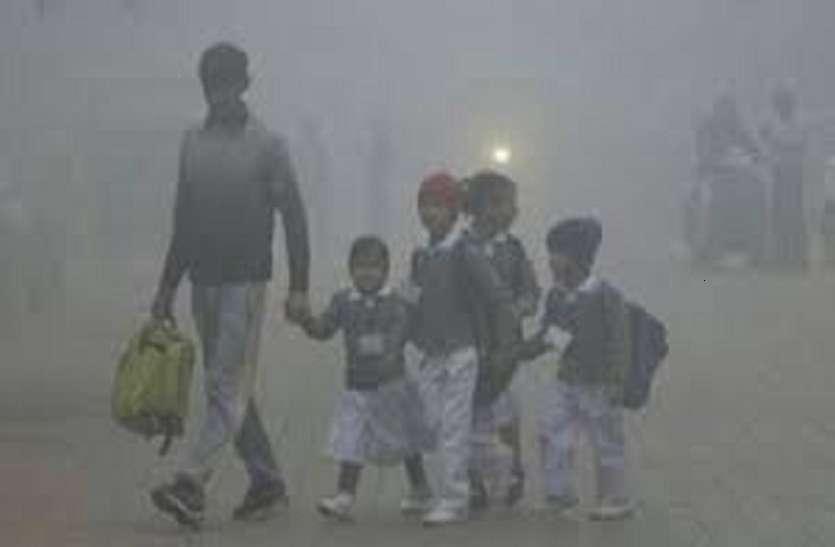 ठंड का असर: आठवीं तक सभी स्कूल बंद, मौसम के तेवर को देखते हुए बढ़ाई जा सकती हैं छुट्टियां
