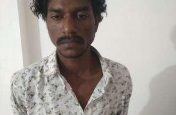 एक रात में तीन घरों में किया था चोरी, लोगों ने सामान किया बरामद