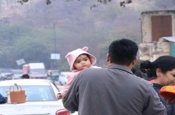 राजस्थान में फिर बढ़ी ठंड, माउंट आबू में पारा हुआ जीरो के पास