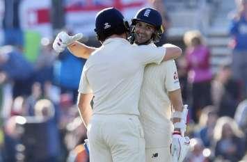 इंग्लैंड के इस गेंदबाज ने 10वें नंबर पर आकर खेली तूफानी पारी, 7 गेंदों में ठोक दिए 38 रन
