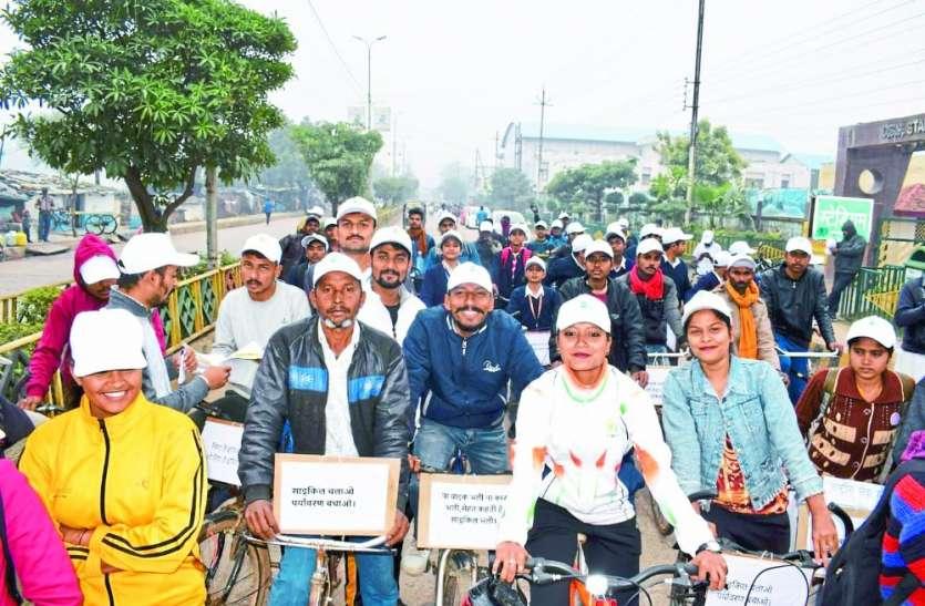 फिट इंडिया साइकिल रैली: न मोटर साइकिल भली न कार, सेहत कहती है साइकिल भली
