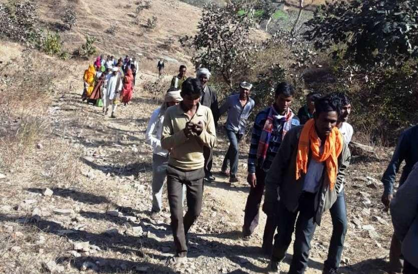 सडक के लिए  वन विभाग से मांगी एनओसी