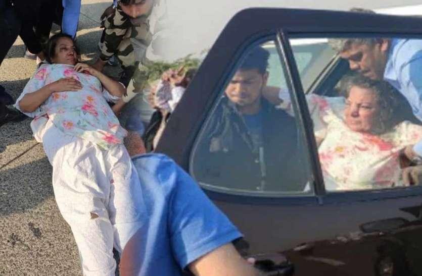 सड़क हादसे में जख्मी शबाना आजमी की हालत में सुधार, डॉक्टरों ने बताया हाल
