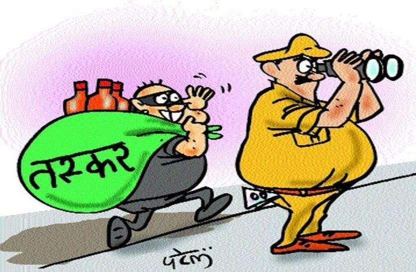 अजमेर जिले में मादक पदार्थ तस्करों पर पुलिस की नजर
