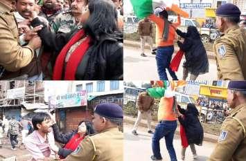 बीजेपी नेता बोला- 'भारत माता की जय', कलेक्टर ने मारे दनादन थप्पड़, एक तिरंगा लेकर बढ़ा तो उसे पीछे लगीं खींचने