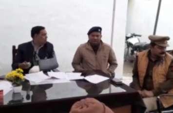 एएसपी अशोक शर्मा ने वरिष्ठ नागरिकों को बताईं सवेरा एप्प की खूबियां