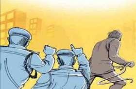 घायल होने के बाद भी चोरों से लड़ता रहा सुरक्षा कर्मी, नहीं होने दी वारदात