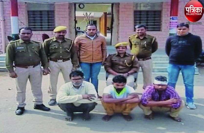 Crime News : पाली : तीन शातिर चोरों ने कबूली कई वारदातें
