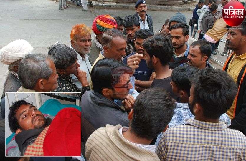 चुनावी रंजिश पड़ी भारी, सरपंच प्रत्याशी के काफिले पर हमला