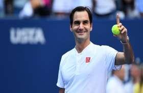 ऑस्ट्रेलियन ओपन टेनिस में आसान जीत के साथ फेडरर दूसरे दौर में पहुंचे