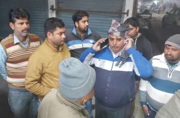 नकाबपोश युवकों ने हनुमानगढ़ बाजार में पिस्तौल दिखा फायनेंसर को लूटने का किया प्रयास