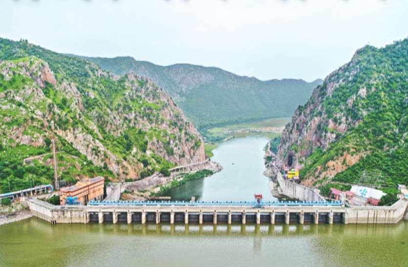 बीसलपुर में आया जयपुर की आठ दिन की प्यास का पानी