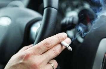 गाड़ी से सड़क पर जलती सिगरेट फेंकने पर लगेगा जुर्माना, रद्द हो सकते हैं लाइसेंस