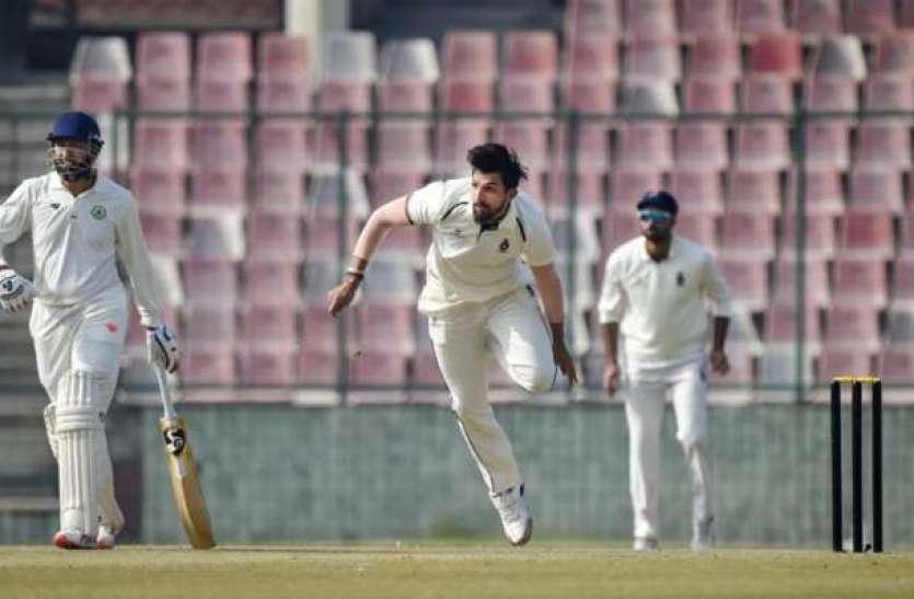 गेंदबाजी के दौरान चोटिल हो गए ईशांत शर्मा, न्यूजीलैंड में टेस्ट सीरीज खेलना हुआ मुश्किल