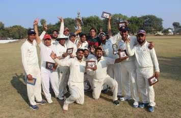 भोपाल ने इंदौर को हराकर जीता राज्य स्तरीय टूर्नामेंट जीता
