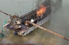सिंध नदी पर पुलिस और राजस्व अमले ने मारा छापा, भागे रेत माफिया
