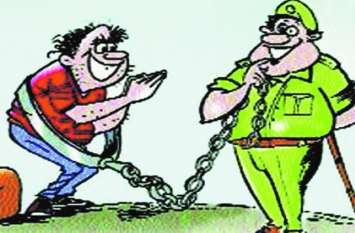 गांजा तस्करी मामले में दलाल दुर्गेश जेल से गिरफ्तार