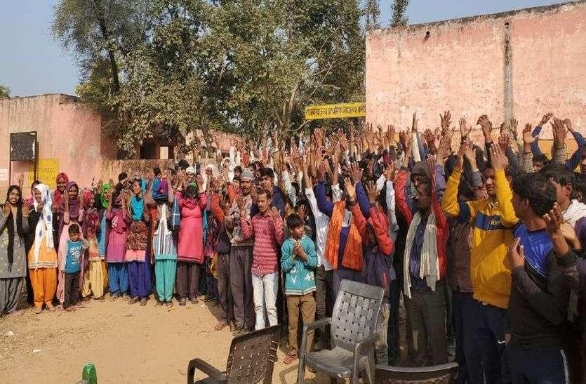 पंचायत चुनाव: राजस्थान में यहां ग्रामीणों ने किया चुनाव का बहिष्कार, सुबह से नहीं डला एक भी वोट