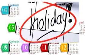 2020 में बढ़ गई ये तीन और छुट्टियां, सरकार ने किया ऐलान, जानिए किस दिन रहेगा हॉलीडे