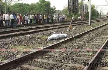 जयपुर: ट्रेन की चपेट में आने से दो लोगों की दर्दनाक मौत, पुलिस मामले की जांच में जुटी