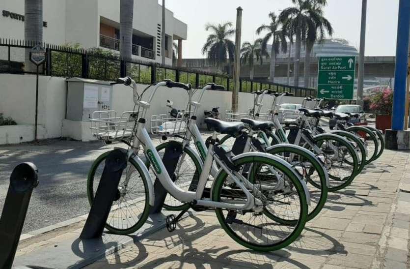 शहर में अब और दौड़ेगी साइकिलें