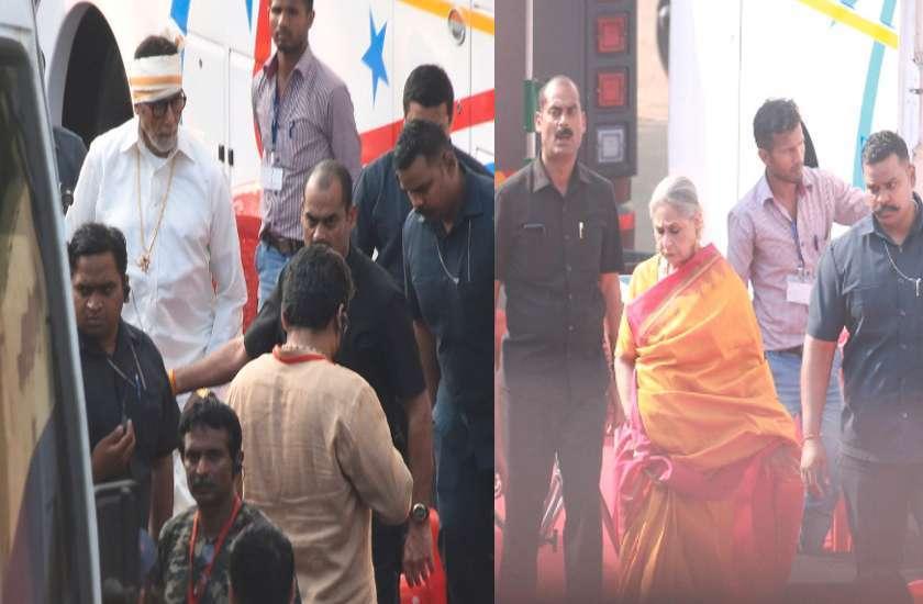 सालों बाद फिर स्क्रीन शेयर करते दिखेंगे अमिताभ- जया, सामने आई सेट से शूटिंग की तस्वीरें