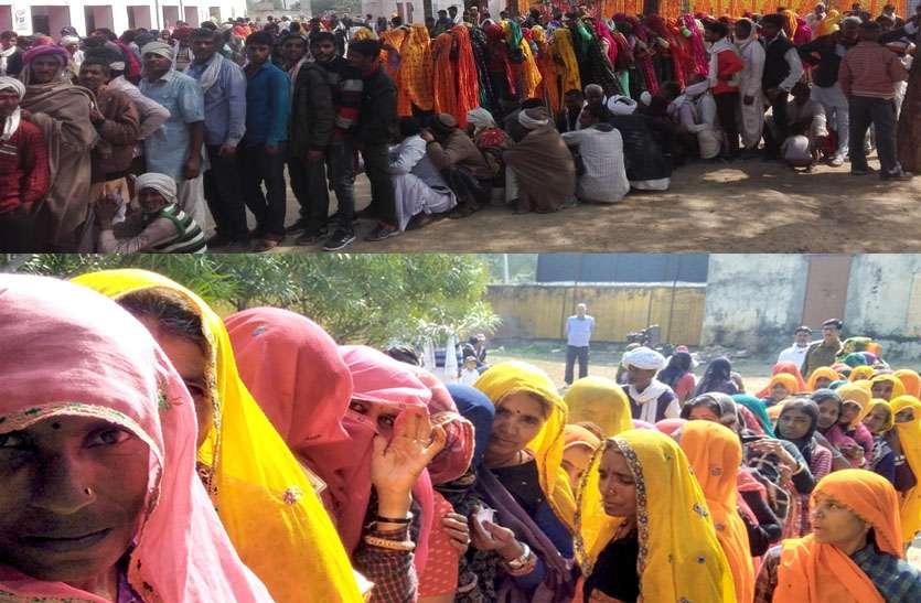 पंचायत चुनाव- तेज सर्दी के बावजूद मतदान के प्रति दिखा लोगों में उत्साह, शाम 7 बजे तक भी जारी रहा मतदान