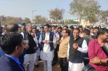 रामनिवास बाग में होगी राहुल की रैली, नेताओं को भीड़ जुटाने के निर्देश