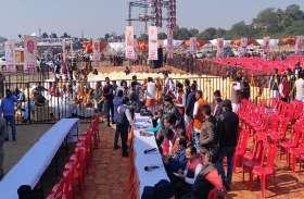 भाजपा की रैली में कुर्सियां खाली, भाजपाइयों के छूटे पसीने