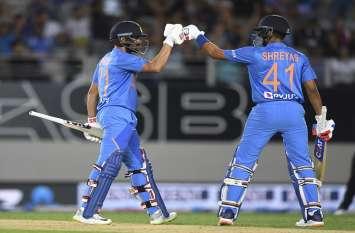 भारत-न्यूजीलैंड टी-20: अय्यर-राहुल के आतिशी अर्धशतकों से जीता भारत