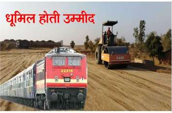 धूमिल होती दिख रही नई रेल परियोजनाओं की उम्मीद