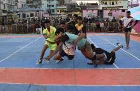 कबड्डी में बंडा टीम ने बीना को 29 अंक से हराया