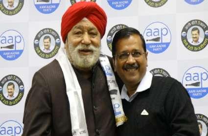दिल्ली विधानसभा चुनाव: भाजपा को बड़ा झटका, 4 बार विधायक रहे हरशरण सिंह बल्ली 'आप' में शामिल