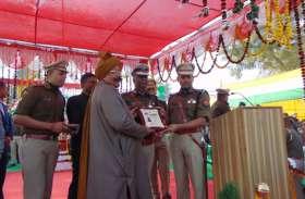 SSP बबलू कुमार को प्लेटिनम डिस्क, पुलिस निरीक्षक अरविन्द त्यागी को राष्ट्रपति पदक