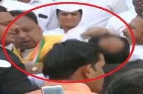 इंदौर में सीएम कमल नाथ के झंडावंदन से पहले कांग्रेसियों में चले थे लात-घूंसे, अब आया ये मोड़...