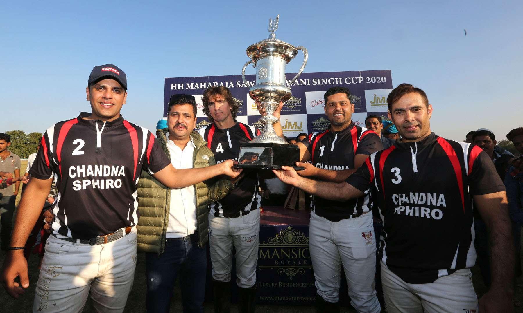 जयपुर पोलो सत्र : चांदना स्पायरो ने जीता भवानी सिंह कप
