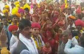 श्रीयादे जयंती पर कलश यात्रा में उमड़ा जन सैलाब