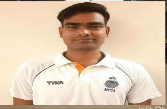 सुहागनगरी के क्रिकेट खिलाड़ी ने रणजी में दिखाया जलवा, तीन विकेट लेकर लहराया परचम
