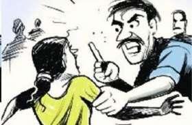 पत्नी को तेजाब डालकर जान से मारने की धमकी