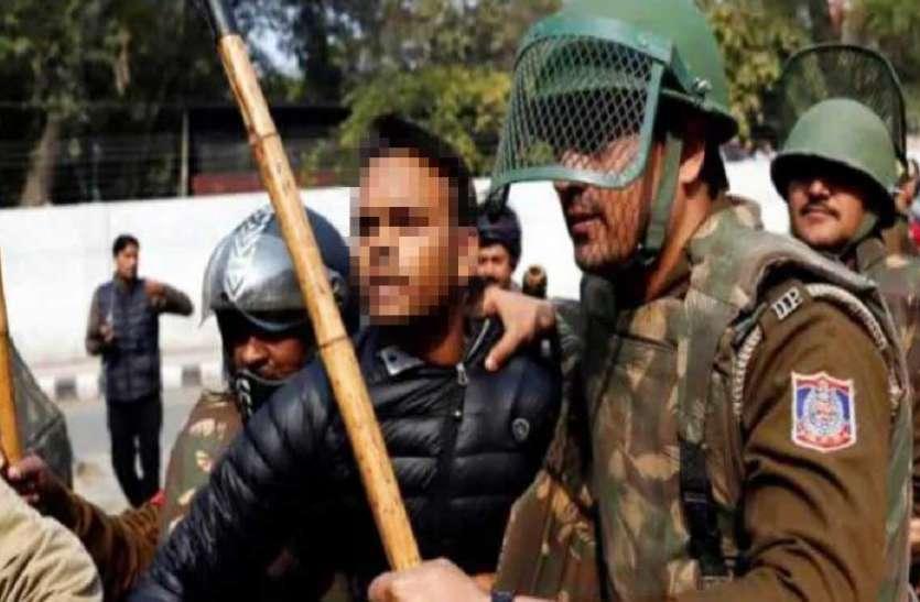 दिल्ली: जेवर के रहने वाले सिरफिरे ने जामिया इलाके में की फायरिंग, एक शख्स घायल
