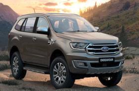जल्द ही भारत में लांच होगी BS6 Ford Endeavour, 10 स्पीड ट्रांमिशन से होगी लैस